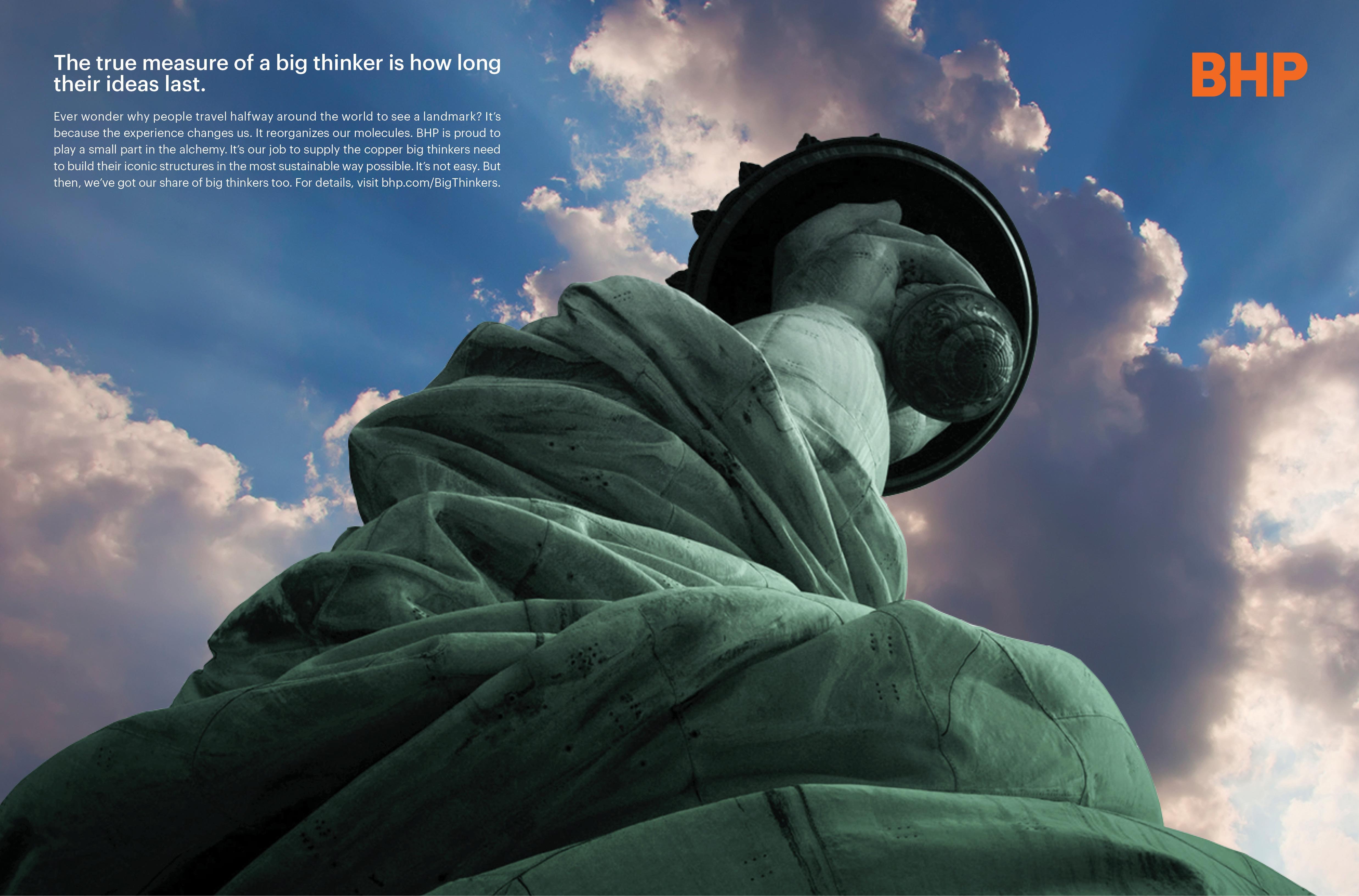 "BHP: ""Statute of Liberty"" Print"