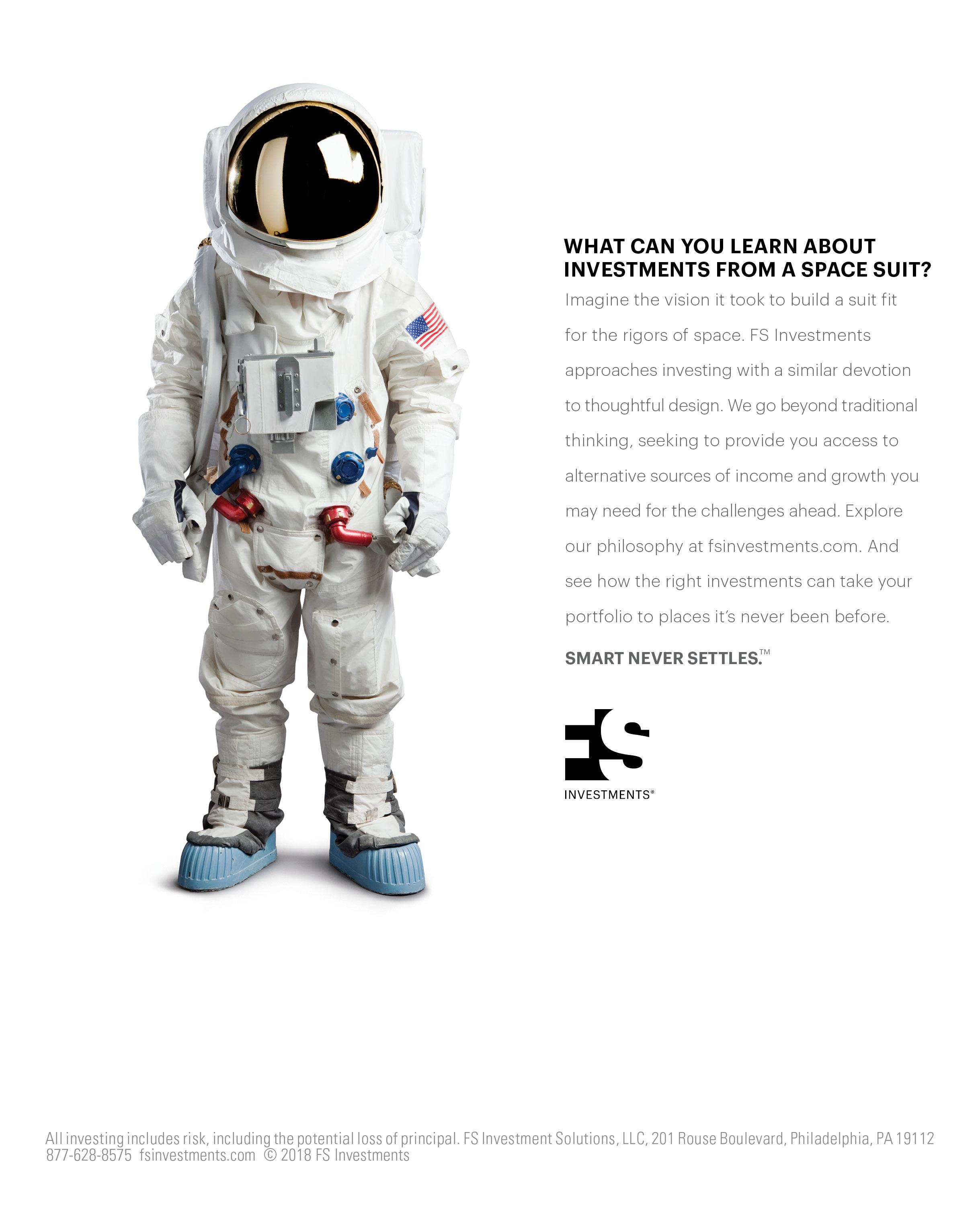 "FS Investments ""Space Suit"" Print"