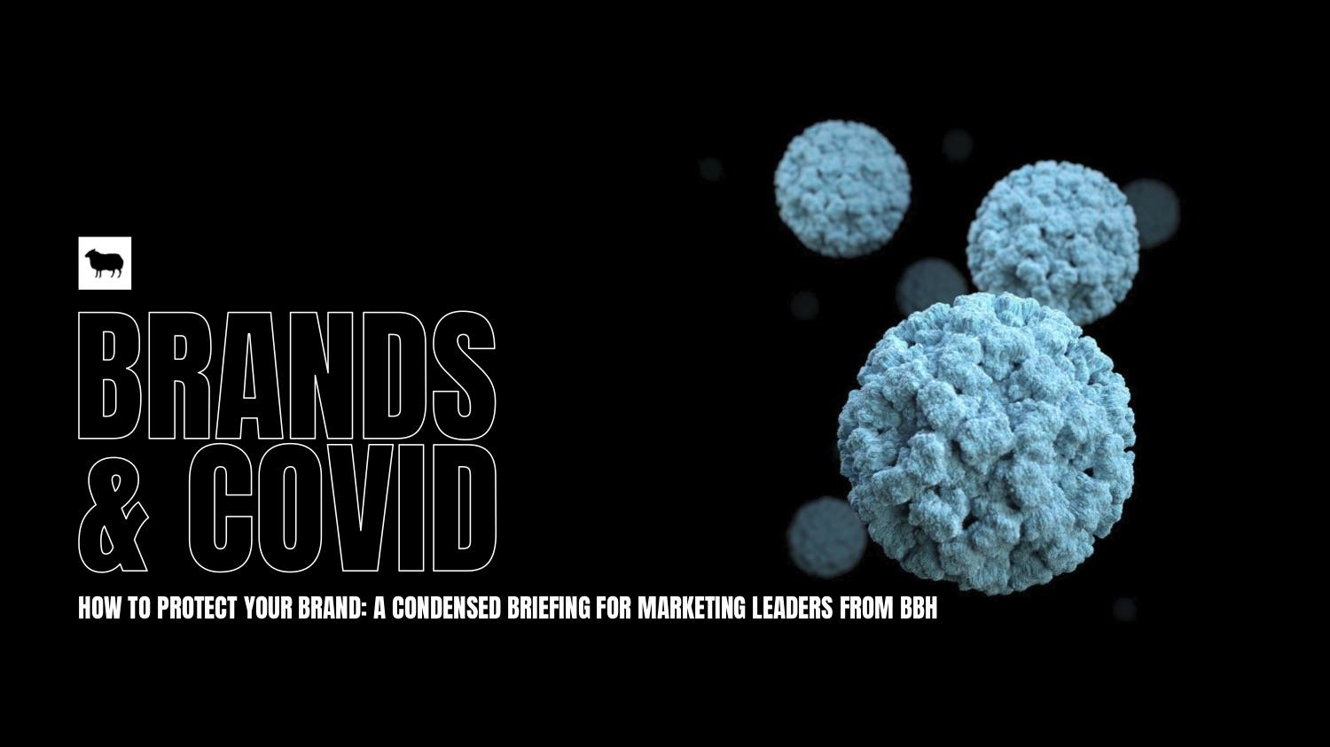 COVID-19 & Marketing - A briefing to marketing leaders