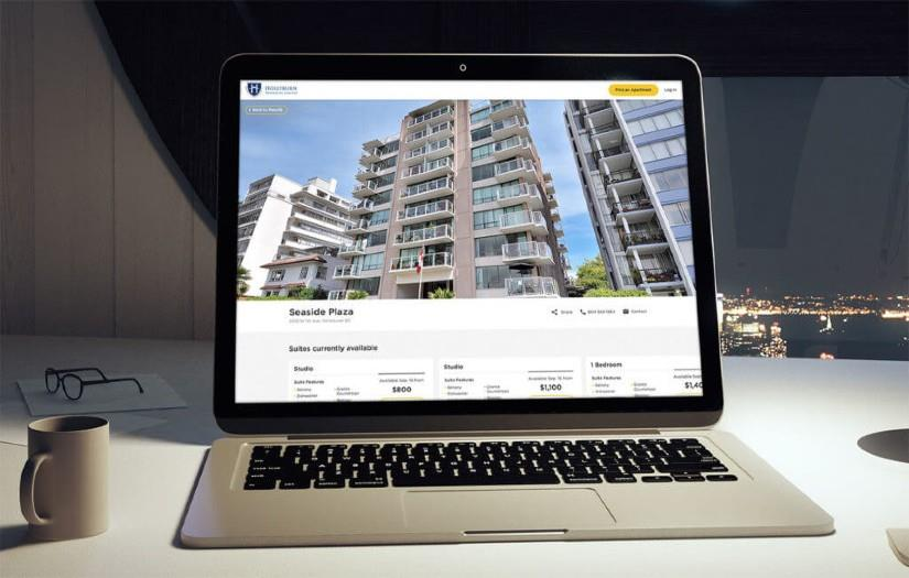 Hollyburn Properties: Furnishing a property management website with user-friendly features
