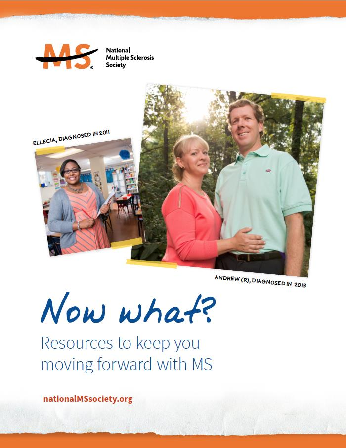 Now What? Resources for Newly Diagnosed (National MS Society)