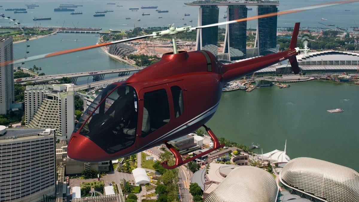 Bell Helicopter 505 Jet Ranger X Launch