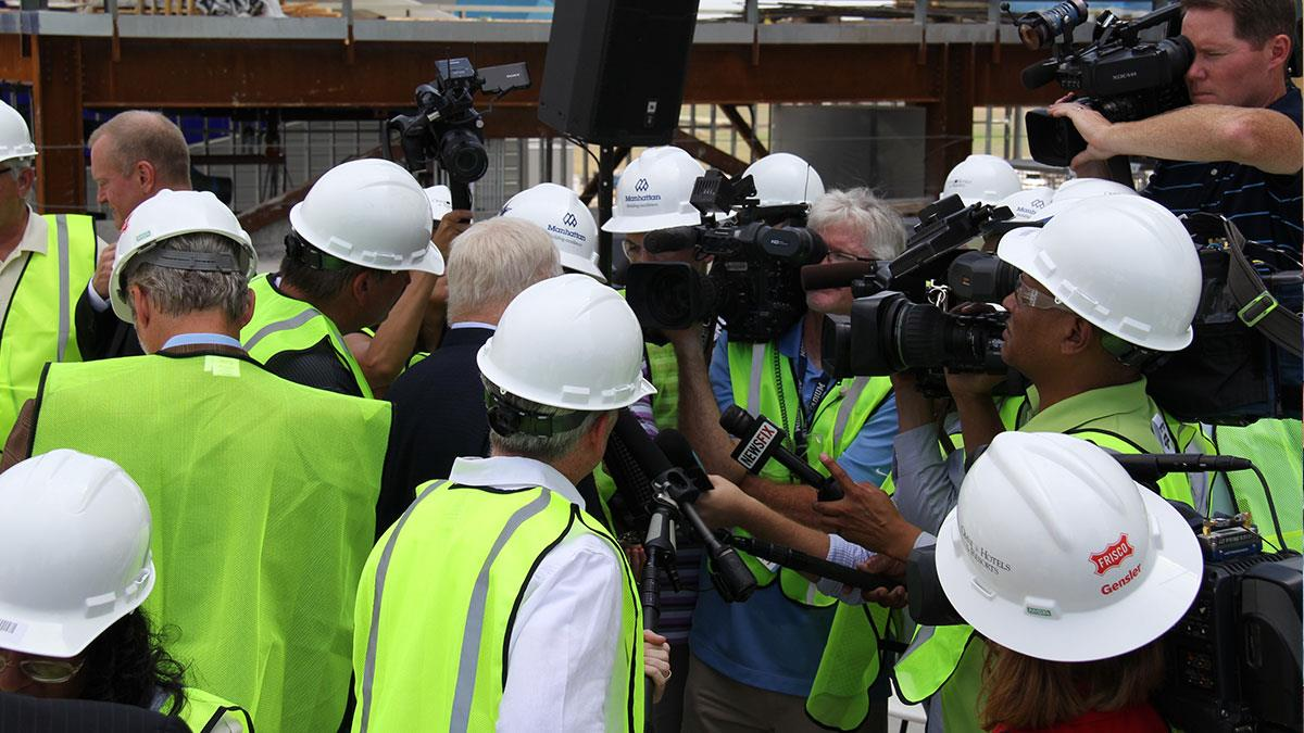 Omni Frisco Hotel Topping Out