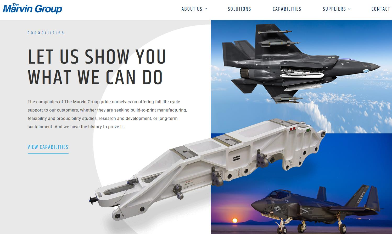 The Marvin Group - Aerospace Aviation Website