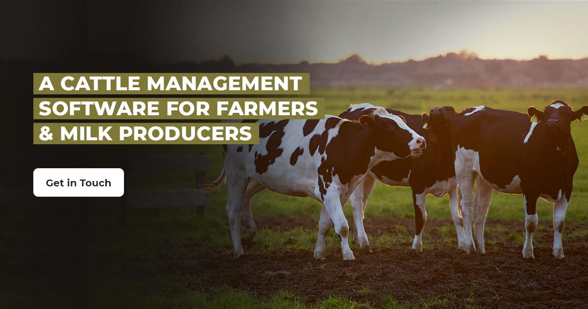 A Cattle Management Software for Farmers & Milk Producer