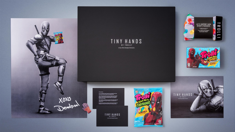 Trolli + Deadpool | Tiny Hands