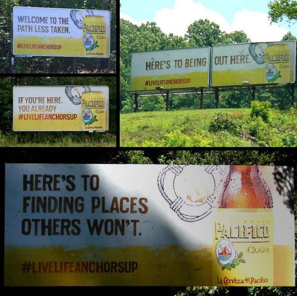 Five Pacifico Billboards Living Their Best Lives.