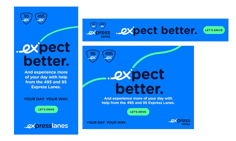 Transurban Express Lanes Campaign Ads