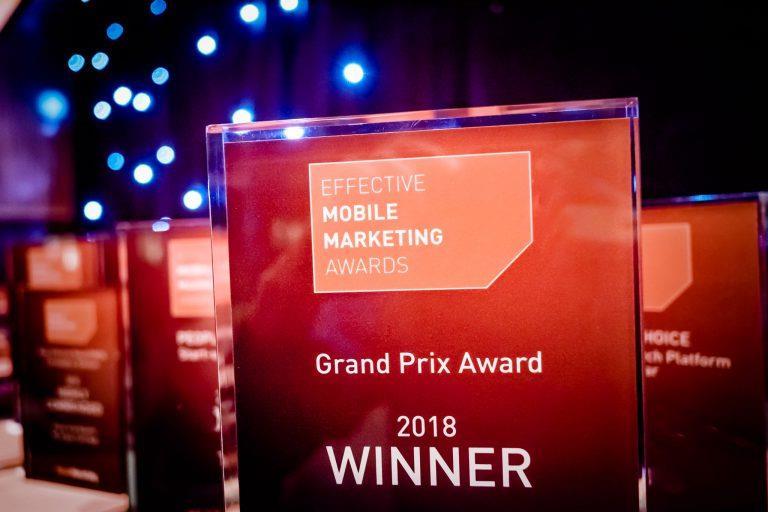 Creative Digital Agency Wins Effective Mobile Marketing Awards, 2018