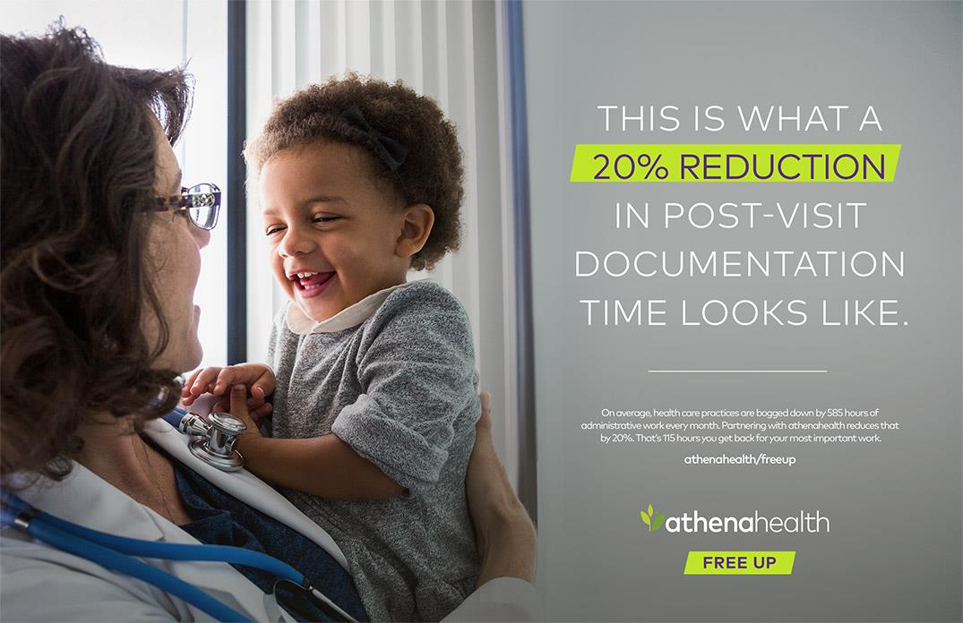 athenahealth: Freeing up healthcare providers to focus on what matters most