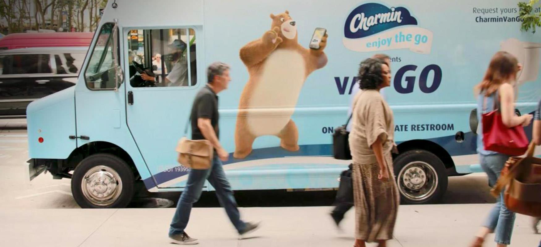 Charmin Van-Go: Helping New Yorkers go on-the-go