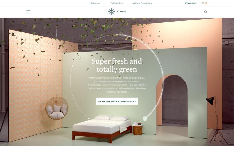 A one-of-a-kind 3D site experience to launch an ecommerce challenger brand