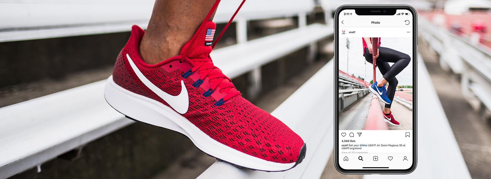 A partnership with Nike brings USA Track & Field shoe release into the limelight.