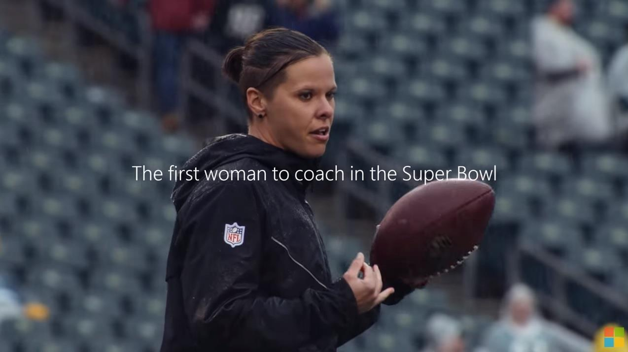 Microsoft Super Bowl 2020 Commercial: Be The One / Katie Sowers