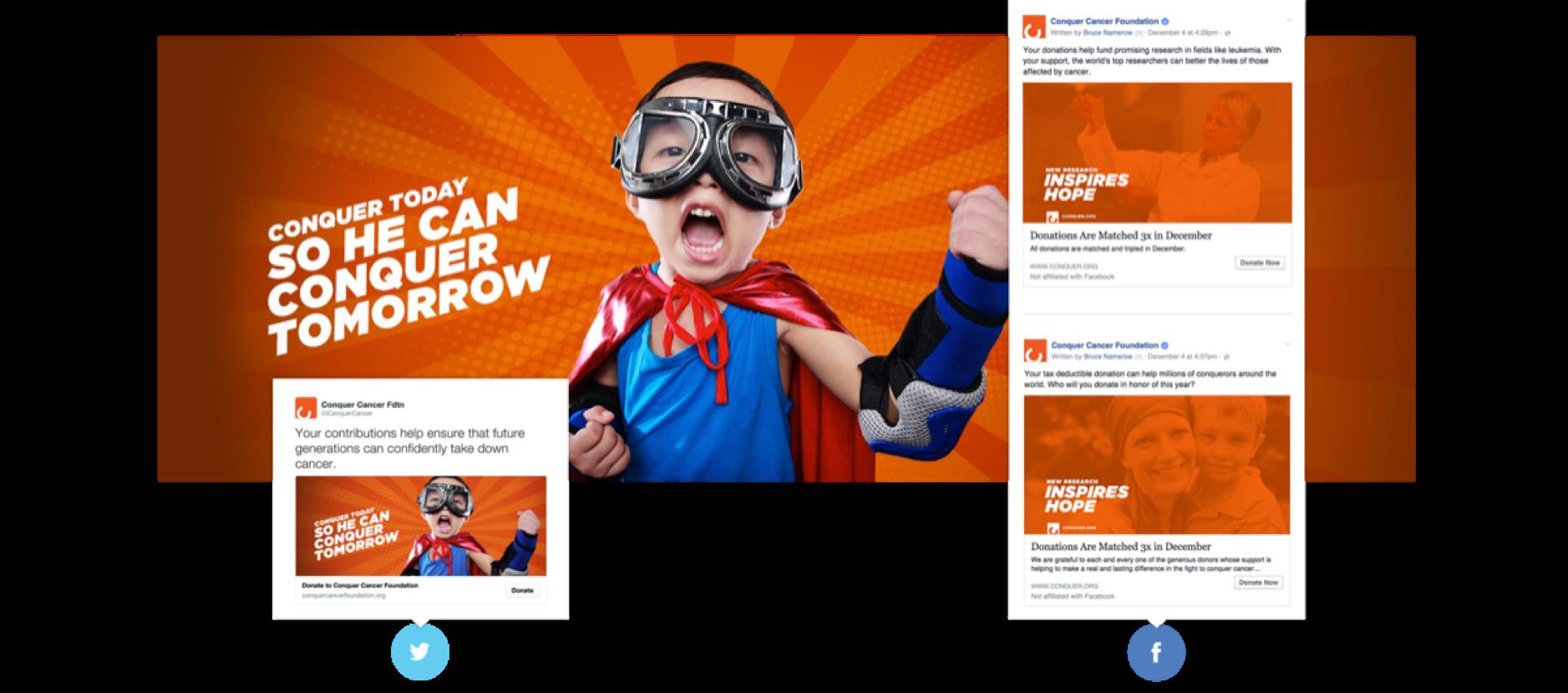 ASCO / Conquer Cancer Foundation Social Strategy, Creative and Paid Media Execution